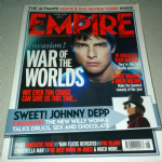 Empire Magazine August  2005 War of the Worlds Tom Cruise